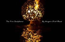 Fire Ball Sculpture – by Aragorn