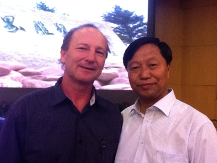 Aragorn and Mr Cui Jie, The Mayor Of Changchun