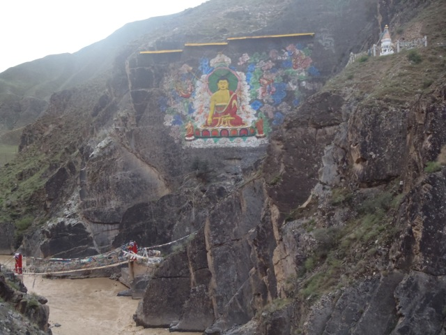 Painted Buddha On The Yellow River